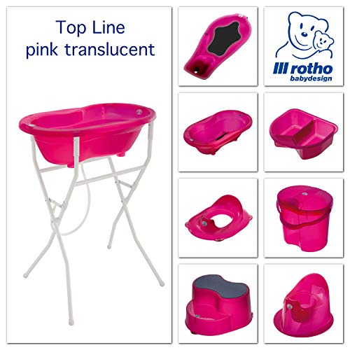Rotho Babydesign 200020210 Top Windeleimer, translucent pink - 7