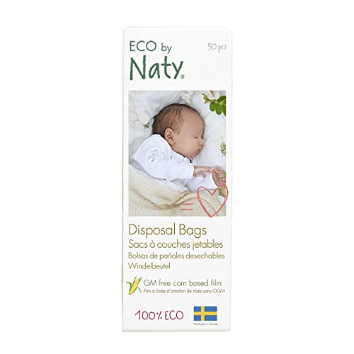 Naty by Nature Babycare Windelbeutel, 3er Pack (3 x 50 Stück)