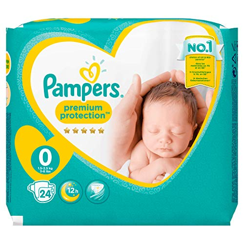 Pampers Windeln New Baby Gr.0 Micro 1-2,5 kg, 6er Pack (6 x 24 Stück) - 4