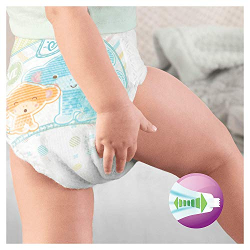 Pampers Windeln Active Fit Gr. 4 Maxi 7-18 kg Monatsbox, 1er Pack (1 x 168 Stück) - 7