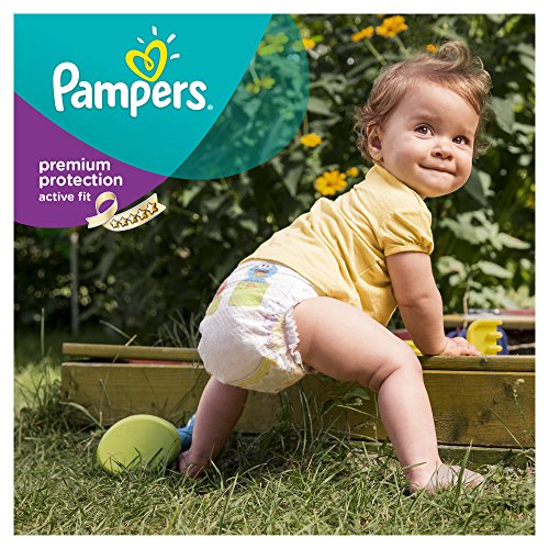 Pampers Windeln Active Fit Gr. 3 Midi 4-9 kg Monatsbox, 1er Pack (1 x 204 Stück) - 2