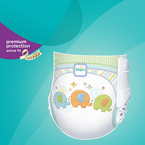 Pampers Windeln Active Fit Gr. 6 Extra Large 15+ kg Sparpack, 4er Pack (4 x 21 Stück) - 1