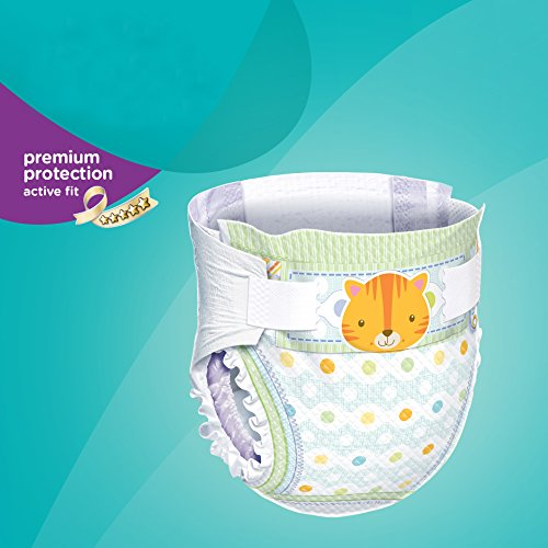 Pampers Windeln Active Fit Gr. 6 Extra Large 15+ kg Sparpack, 4er Pack (4 x 21 Stück) - 2
