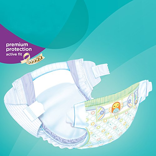 Pampers Windeln Active Fit Gr. 6 Extra Large 15+ kg Sparpack, 4er Pack (4 x 21 Stück) - 3