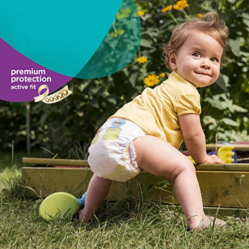 Pampers Windeln Active Fit Gr. 6 Extra Large 15+ kg Sparpack, 4er Pack (4 x 21 Stück) - 4