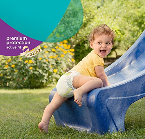 Pampers Windeln Active Fit Gr. 6 Extra Large 15+ kg Sparpack, 4er Pack (4 x 21 Stück) - 5