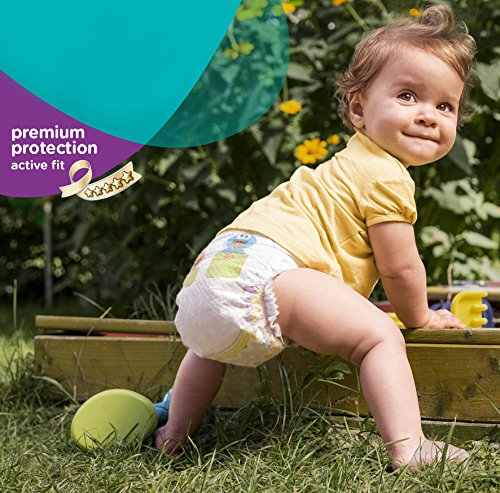 Pampers Windeln Active Fit Gr. 6 Extra Large 15+ kg Sparpack, 4er Pack (4 x 21 Stück) - 8