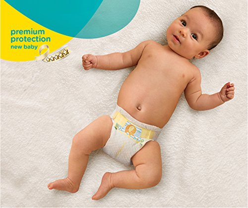 Pampers Windeln New Baby Gr.0 Micro 1-2,5 kg, 6er Pack (6 x 24 Stück) - 1