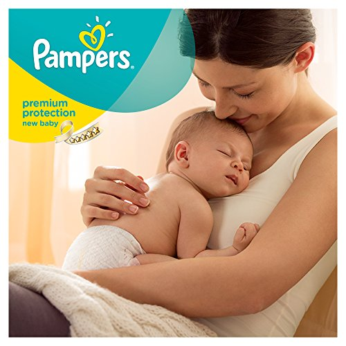 Pampers Windeln New Baby Gr. 1 Newborn 2-5 kg Tragepack, 4er Pack (4 x 23 Stück) - 5