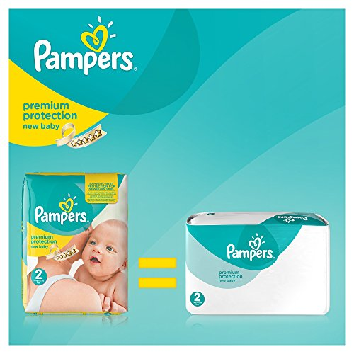 Pampers Windeln New Baby Gr. 2 Mini 3-6 kg Monatsbox, 1er Pack (1 x 240 Stück) - 2