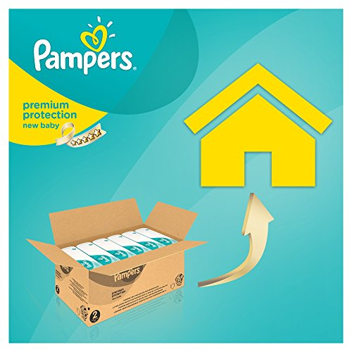Pampers Windeln New Baby Gr. 2 Mini 3-6 kg Monatsbox, 1er Pack (1 x 240 Stück) - 4