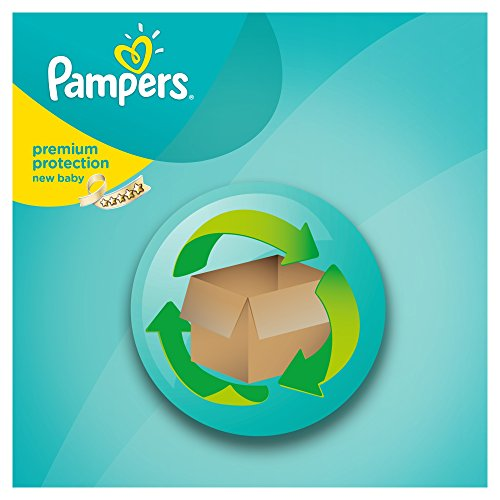 Pampers Windeln New Baby Gr. 2 Mini 3-6 kg Monatsbox, 1er Pack (1 x 240 Stück) - 5