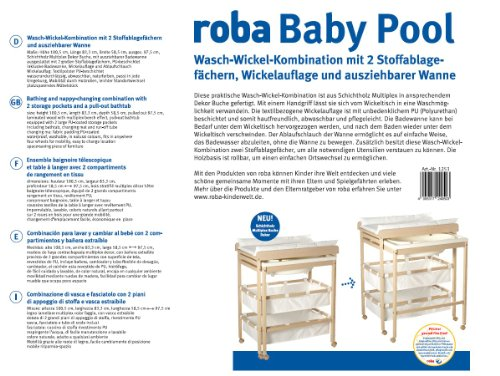 roba 1253 - Bade-Wickel-Kombi Baby Pool - 3
