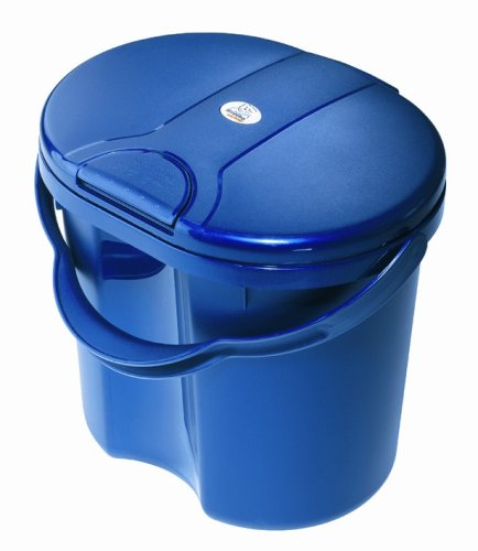Rotho 20002 0020 - TOP Windeleimer, Farbe blueperl - 1