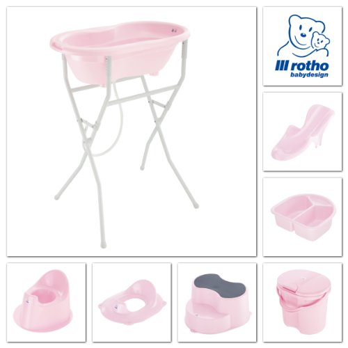 Rotho Babydesign 200020208 Top Windeleimer, tender rose perl - 2