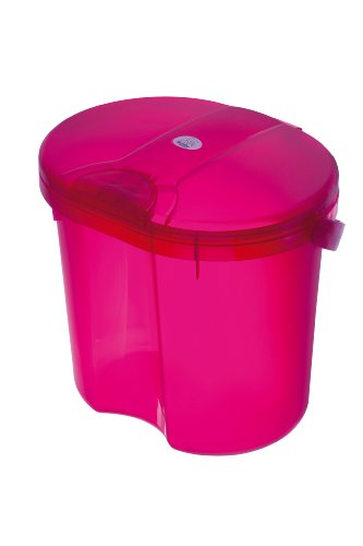 Rotho Babydesign 200020210 Top Windeleimer, translucent pink - 1