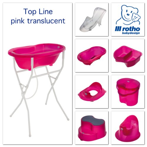 Rotho Babydesign 200020210 Top Windeleimer, translucent pink - 3