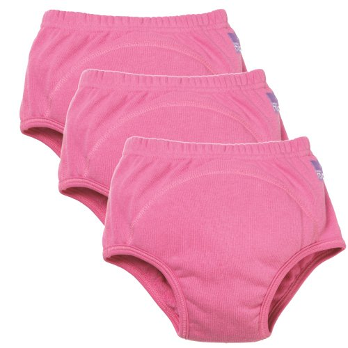Vital Innovations 3TPG 3 plus C Bambino Mio Trainingshöschen, (3er-Set), pink - 1