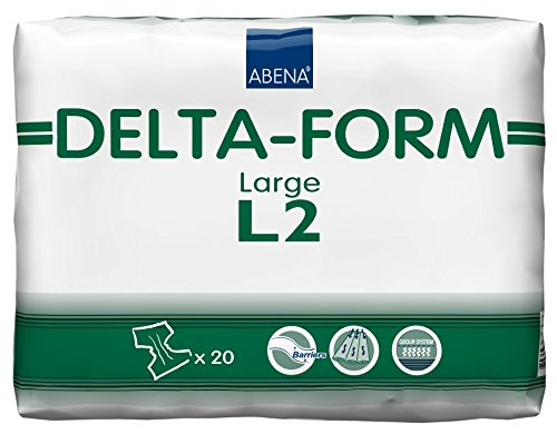 Nottingham Rehab Supplies M91539 Abena Delta All in One Inkontinenz Pads - 1